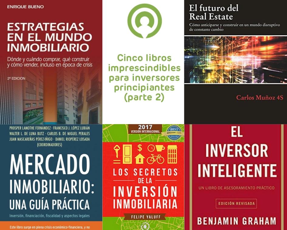 Cinco libros imprescindibles para inversores principiantes