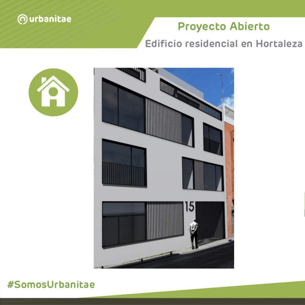 Primer proyecto en activo: un edificio residencial en Hortaleza