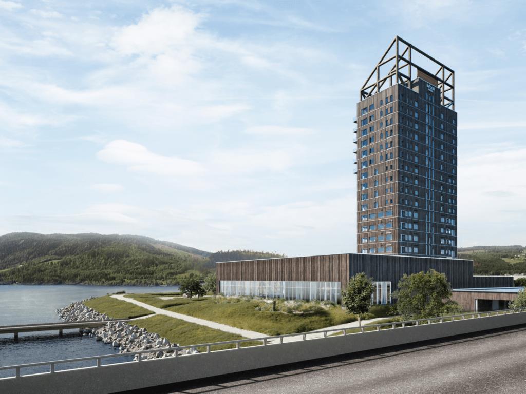 Rascacielos de madera, apuesta por la sosteniblidad